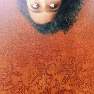 I flipped this image upside down as I thought that was the best way to bring out the patterns above me. Photograph/Natasha Desai