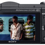 The back is familiar in design and similar to previous mirrorless cameras from the company. There is no Electronic Viewfinder, but the camera does have a touchscreen, which comes handy while shooting video.
