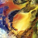 This satellite image shows Ubari and Murzuq sand dune seas in the Fezzan region of southwestern Libya. Image Courtesy: European Space Agency