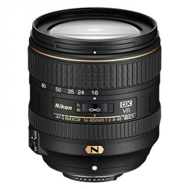 AF-S DX Nikkor 16–80mm f/2.8-4E ED VR lens by Nikon