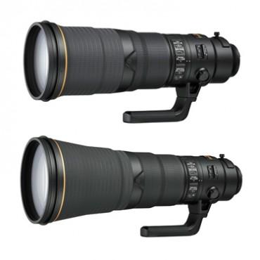 Nikon AF-S Nikkor 500mm f/4E FL ED VR and AF-S Nikkor 600mm f/4E FL ED VR