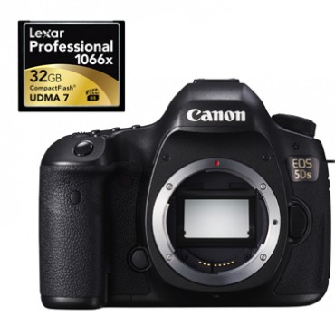 Tests shows Lexar SD and CF cards are fastest for Canon EOS 5DS