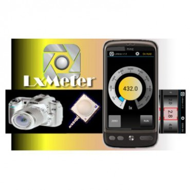 Optivelox's LxMeterconverts smartphones into a light and flash meter