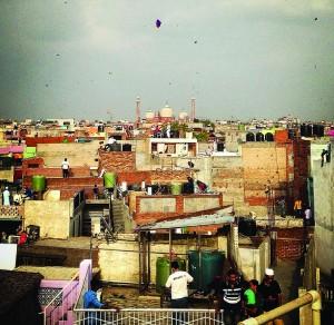 Chandan often roams the old quarters of Delhi in search of captureworthy moments. Photograph/Chandan Khanna