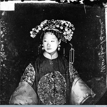 Manchu Bride, Peking, Penchilie Province, China/Photograph/courtesy LSE Digital Library & Wellcome Library