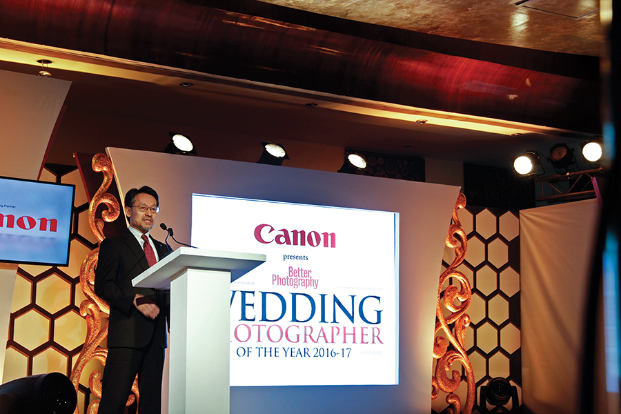 Eddie Udagawa, Vice President Of The ICP Division Of Canon