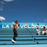 People at a Latino- American Stadium, in Havana, Cuba. Photograph/Ira Block