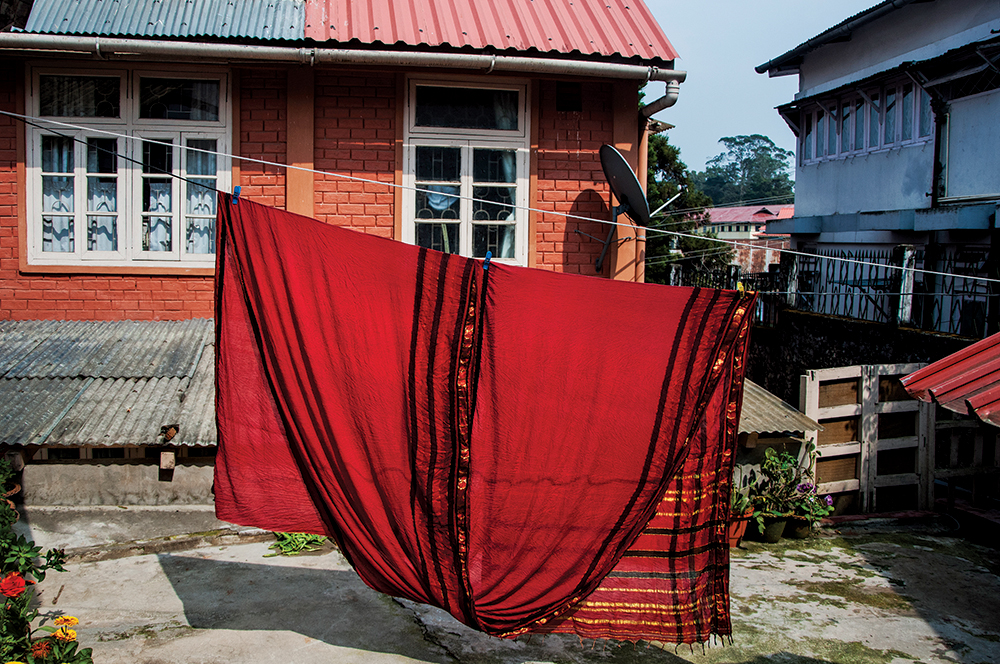 Ma's Saree. Photograph/Anurag Banerjee