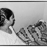 Dad under treatment for cancer, 2015. Photograph/Sathish Kumar