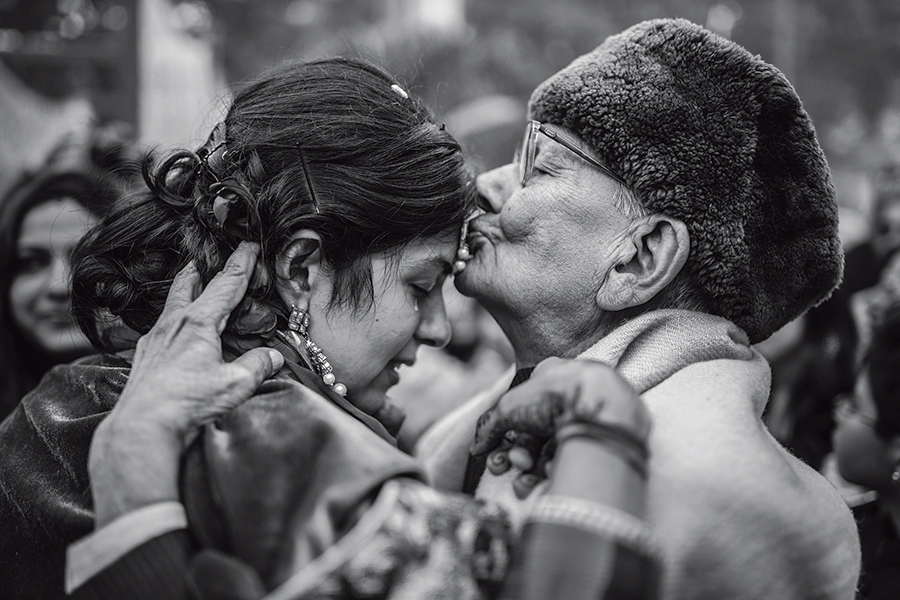 Emotions category winning image. Photograph/Abhimanyu Sharma