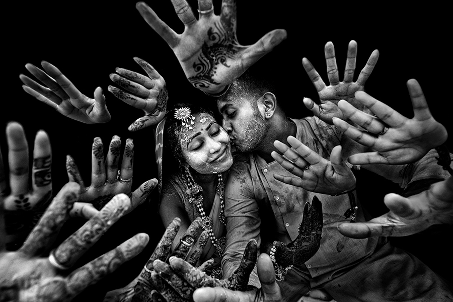 Runner-up in Bride & Groom Portraiture category. Photograph/Nitin Dangwal