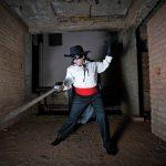 Zorro. Photograph/Indu Antony