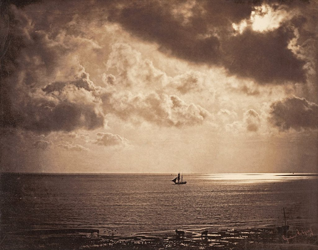 Gustave Le Gray's Enthralling Seascapes